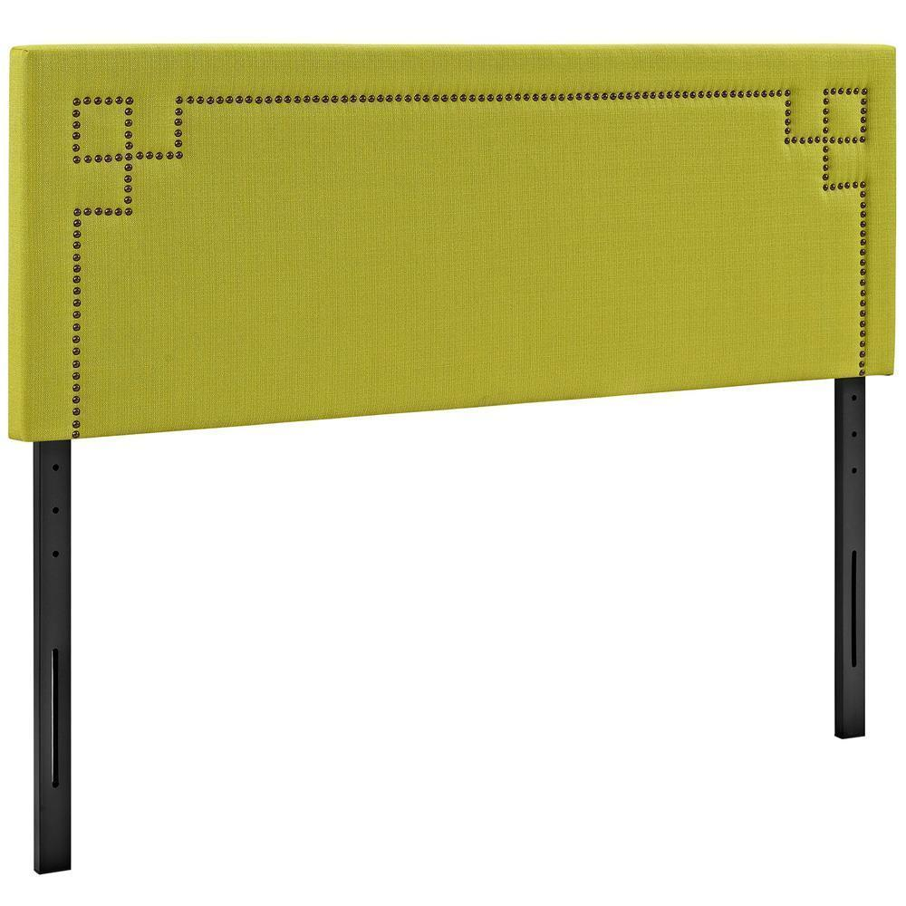 Modway Josie Queen Upholstered Fabric Headboard - Wheatgrass