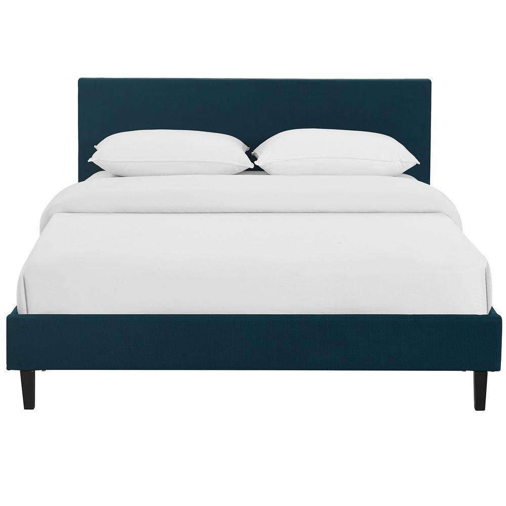 Modway Anya Queen Bed - Azure