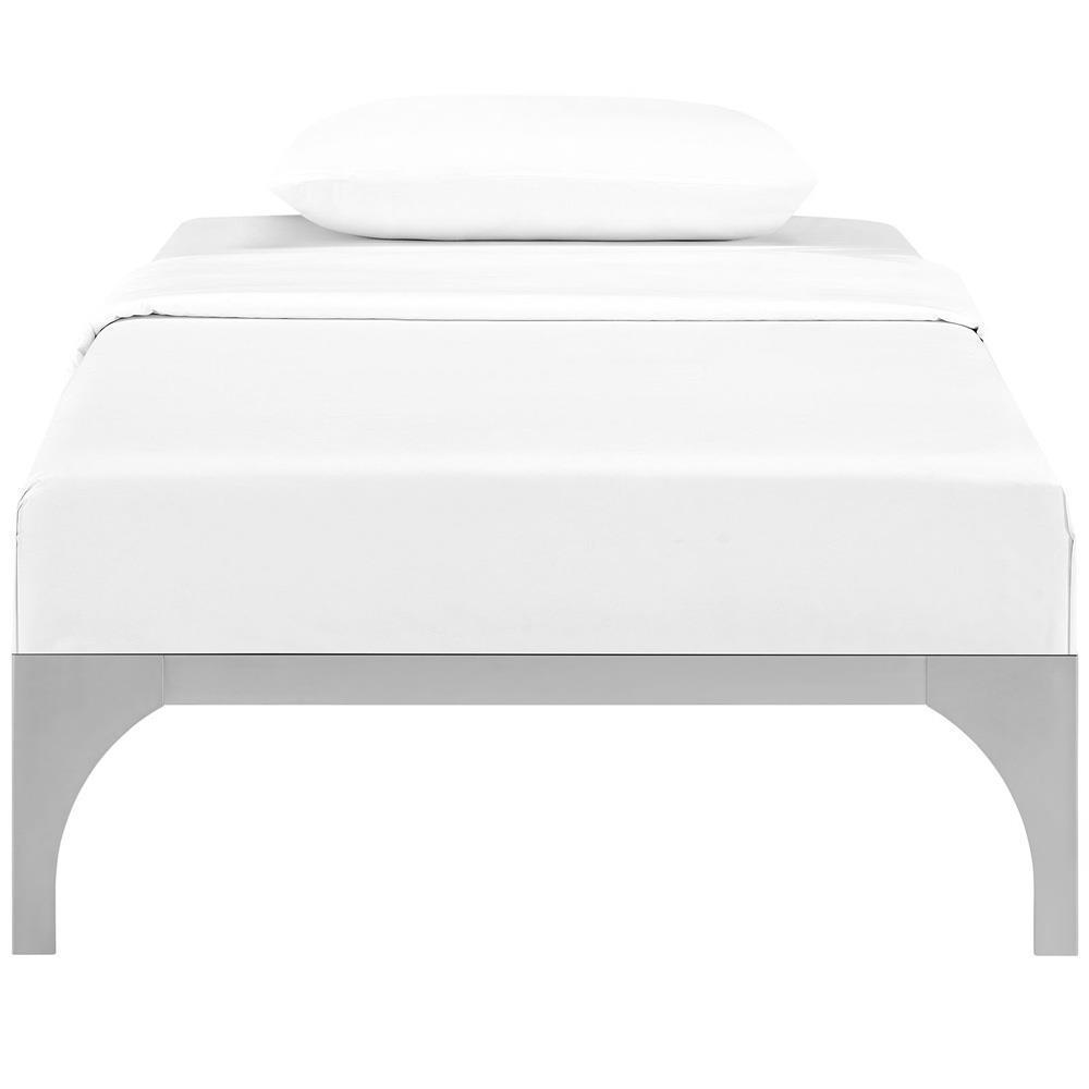 Modway Ollie Twin Bed Frame - Silver