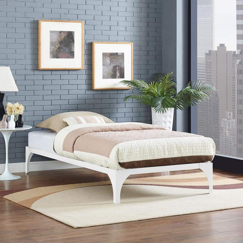 Modway Ollie Twin Bed Frame - White