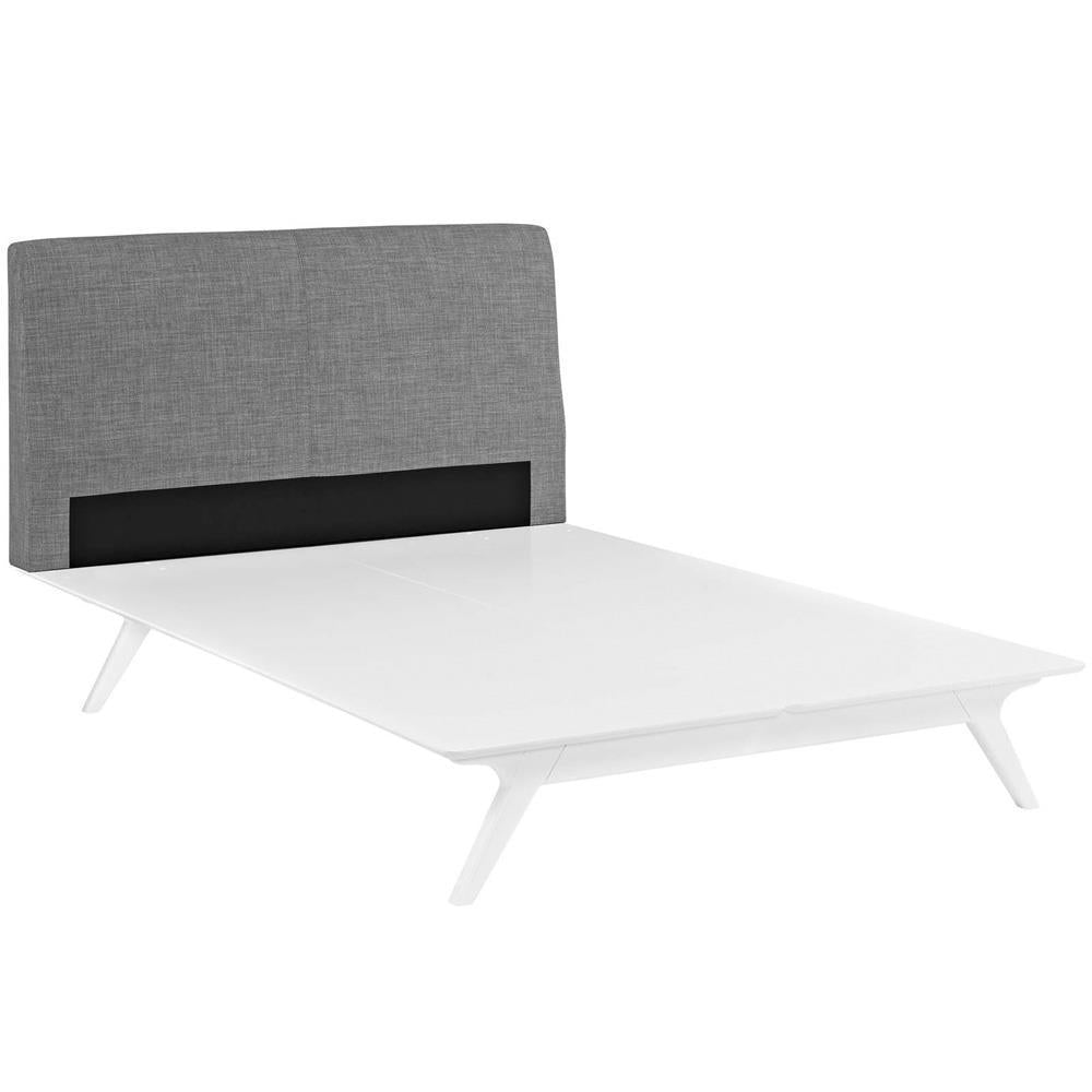 Modway Tracy Full Bed - White Gray