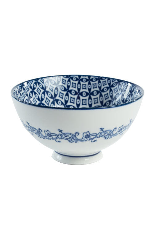 Blue and White Bowl - OC-BOWL-S4A - Set of 6