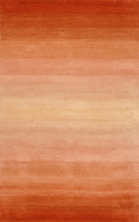 Ombre Horizon Orange Indoor Rug
