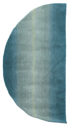 Ombre Horizon Aqua Indoor Rug