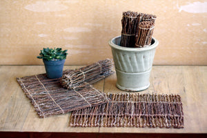Kalalou Coco Twig Placemat - Set Of 6