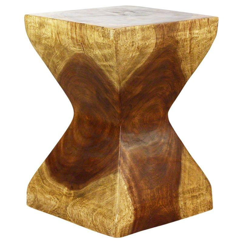 "Haussmann Rest Stool 14"" Sq - Antique Oak Oil"