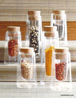 Roost Double-Wall Spice Jars - Set Of 12