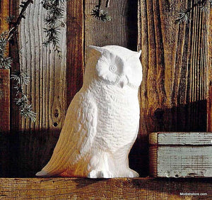 Roost Great Horned Owl Lamp
