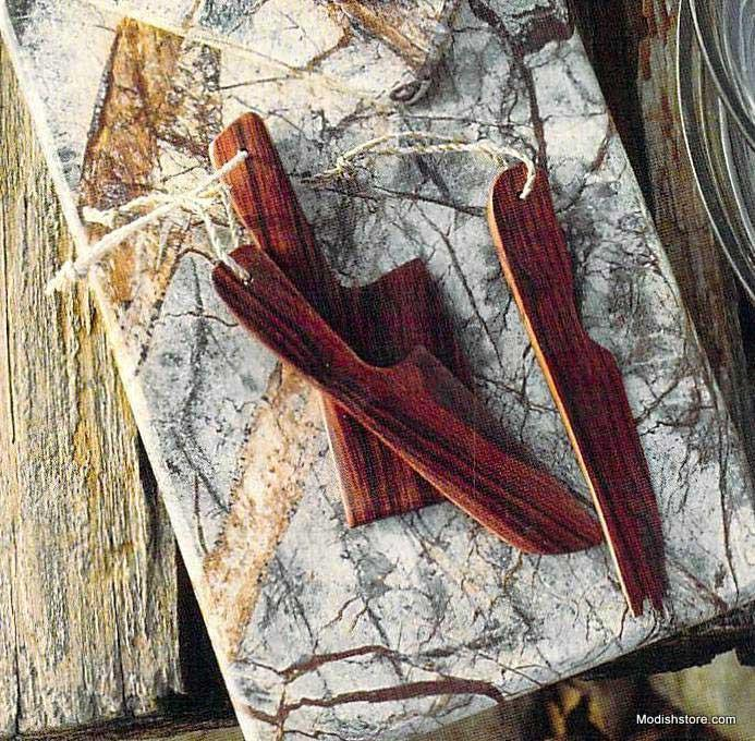 Roost Hardwood Cheese Knives - Set Of 3