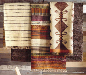 Roost Patterned & Hemp Boucle Rugs
