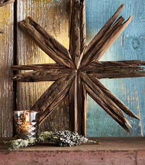 Roost Driftwood Star Wall Lights - out of stock