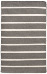 Sorrento Pinstripe Grey Indoor/Outdoor Rug