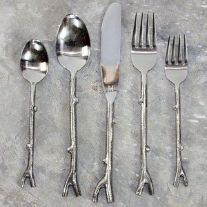 Haussmann Branch Flatware 5 Pc Setting X 4 Place Settings