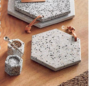 Roost Terrazzo Serving Boards, Set of 3