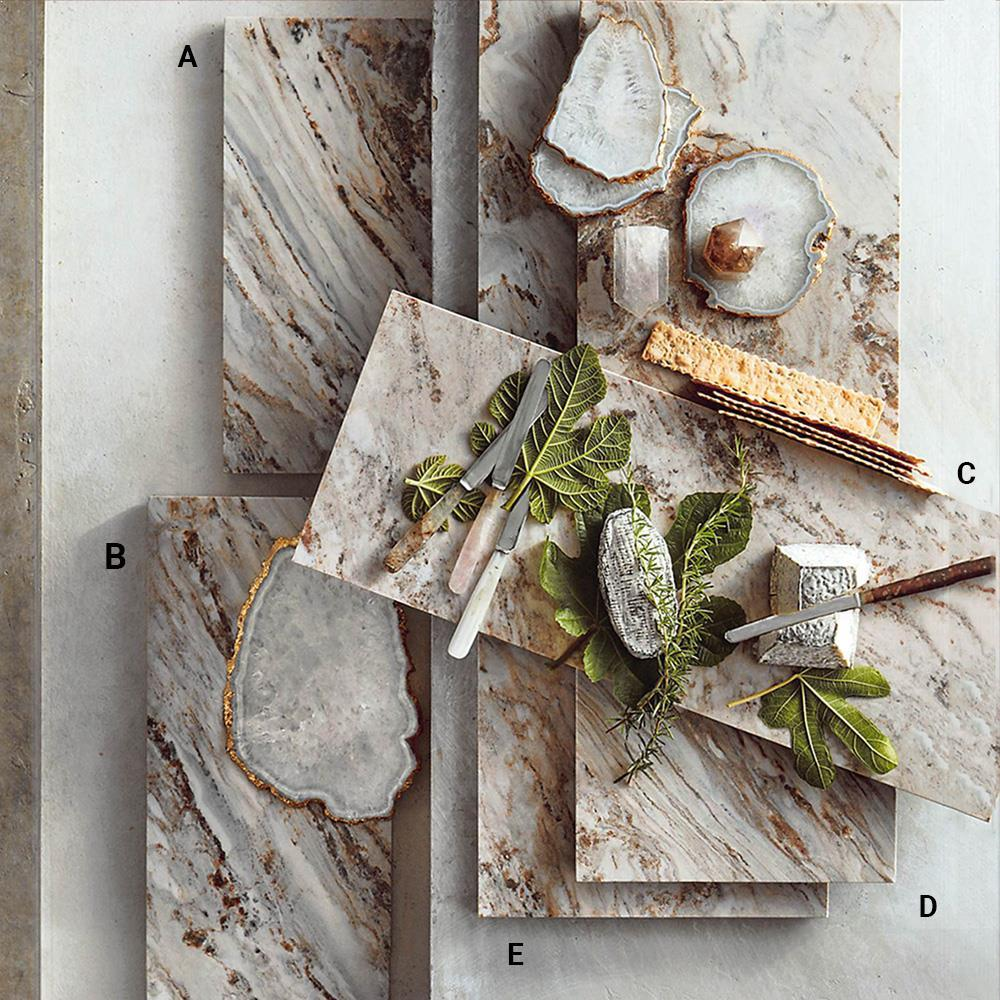 Roost Palissandro Marble Serving Boards