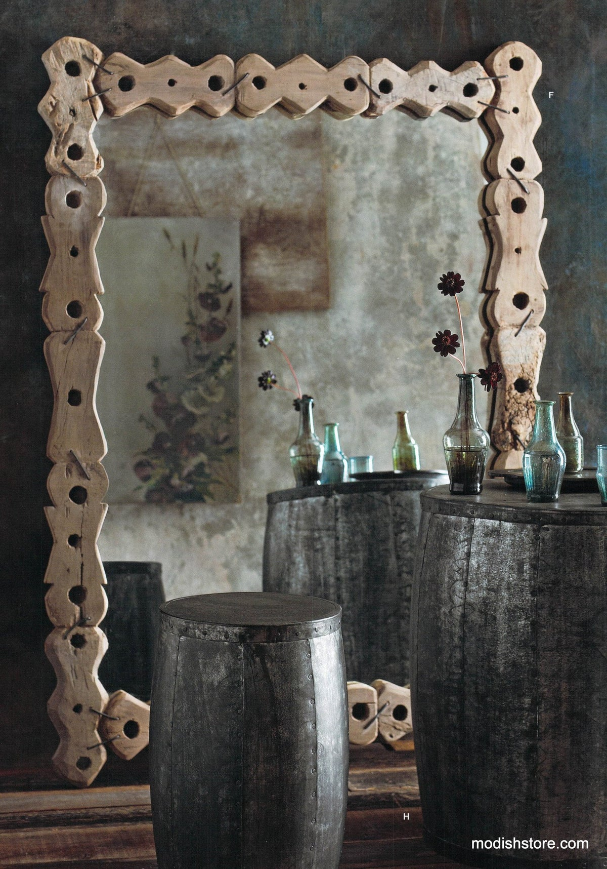 Roost Nepalese Pulley Mirror