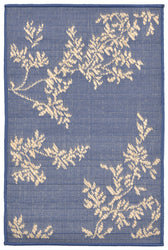Terrace VIne Marine Indoor/Outdoor Rug