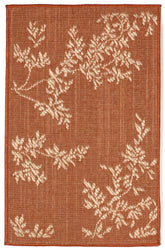 Terrace VIne Terracotta Indoor/Outdoor Rug