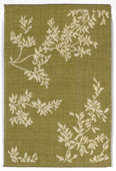 Terrace VIne Green Indoor/Outdoor Rug