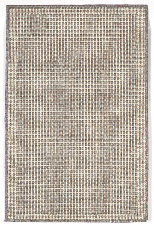 Terrace Texture Silveriv Indoor/Outdoor Rug
