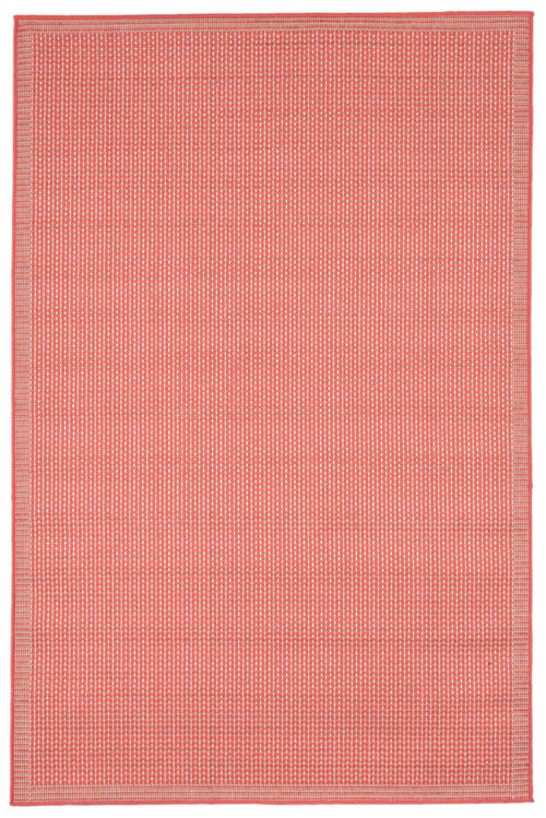 Terrace Texture Coral Indoor/Outdoor Rug