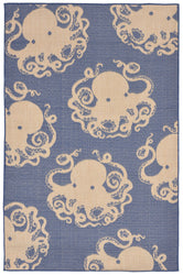 Terrace Octopus Marine Indoor/Outdoor Rug