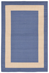 Terrace Border Marine Indoor/Outdoor Rug
