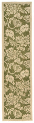 Terrace Floral Green Indoor/Outdoor Rug