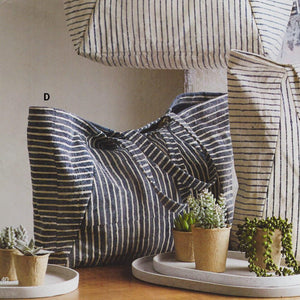 Roost Durban Striped Totes - Set Of 2
