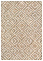 Wooster Kuba Neutral Indoor/Outdoor Rug