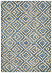 Wooster Kuba Denim Indoor/Outdoor Rug