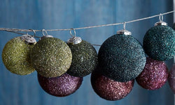 Roost Sparkle Ball Ornaments - Set Of 18