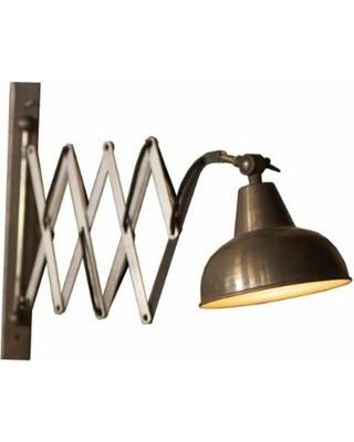 Kalalou Industrial Vertical Scissor Wall Lamp