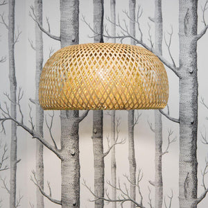Isha Interlace Bamboo Pendant Light