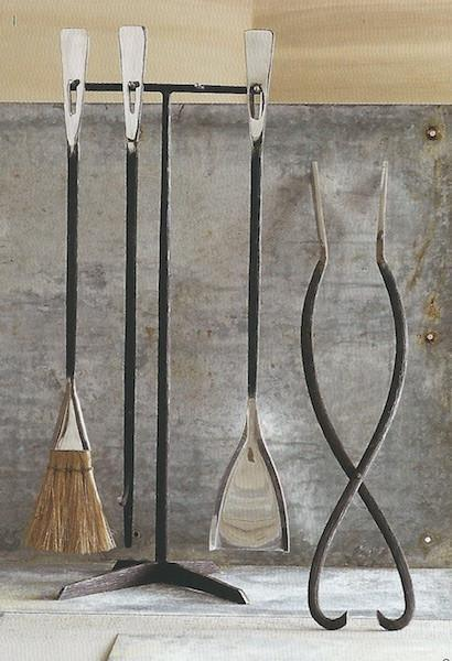 Roost Bark Hearth Tools - Set Of 4