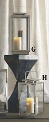 Roost Modern Nickel Lanterns
