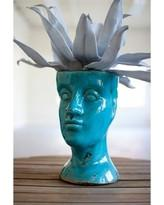Kalalou Ceramic Head Planter