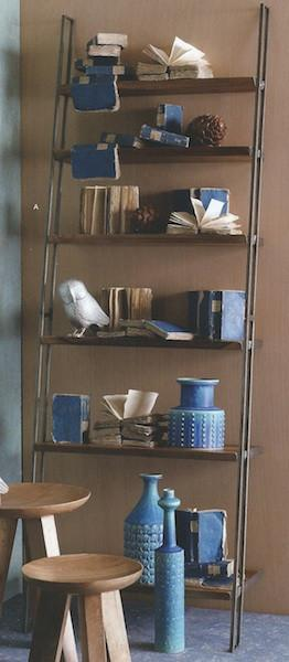 Roost Leaning Book shelf