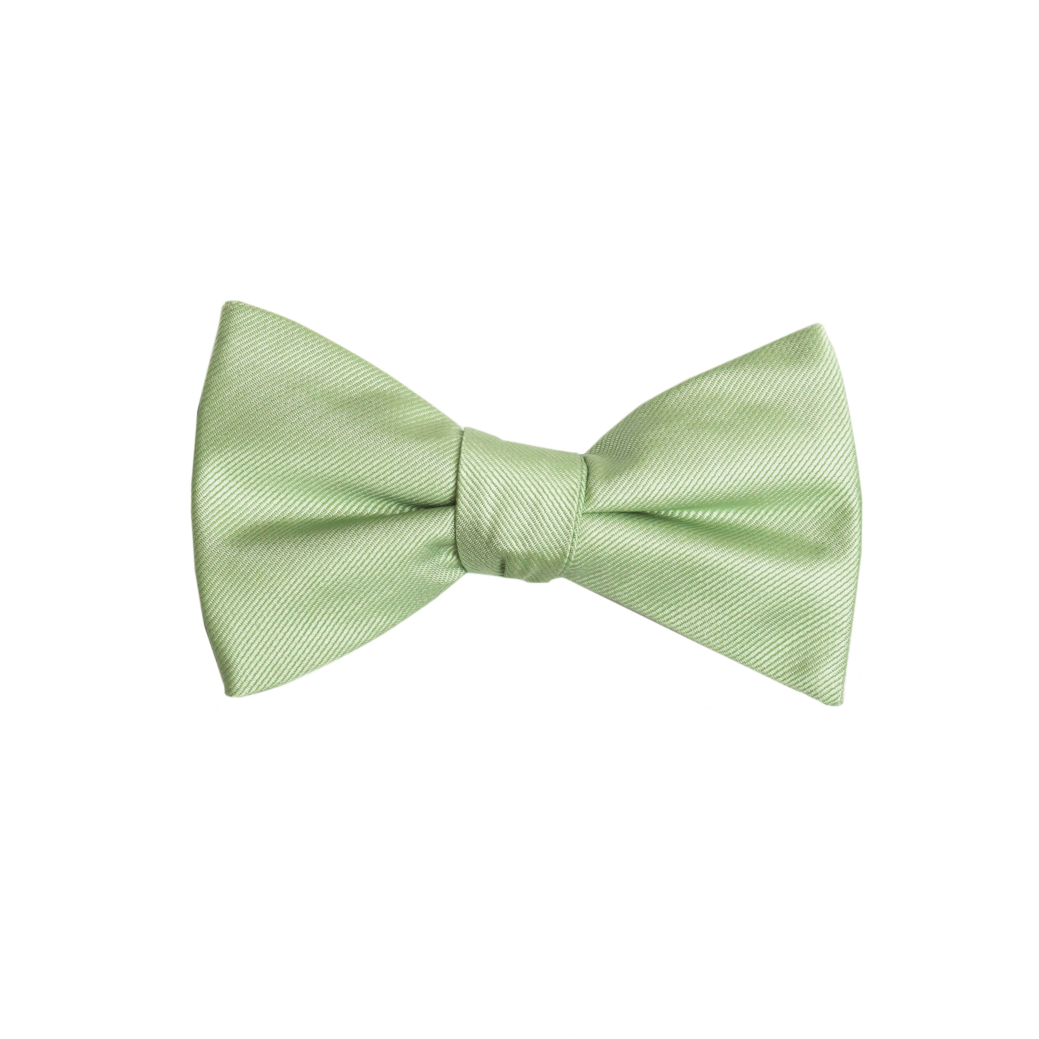 1 Tuxedo Solid Color Bow Ties for Boys Sage