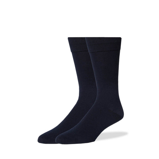 Socks - Navy Solid Socks