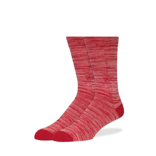 Socks - Red Melange Socks