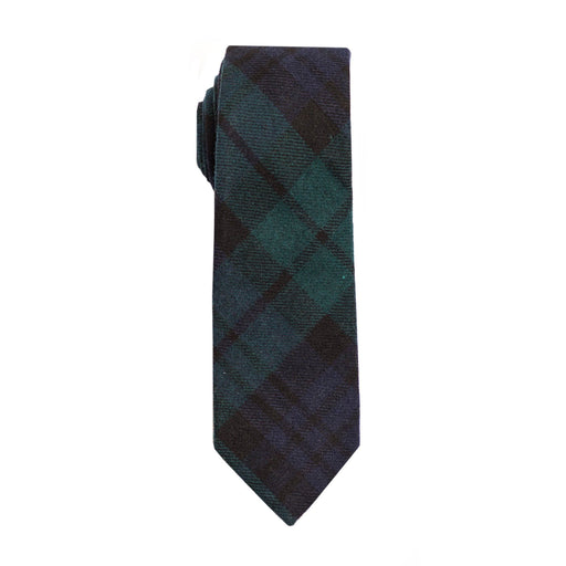 Ties - Black Watch Plaid Tie (Brooklyn)