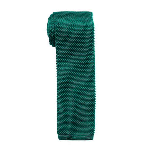 Ties - Emerald Knit Tie (Brooklyn)