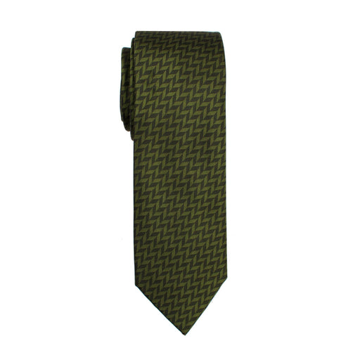 Ties - Forest Herringbone Silk Tie
