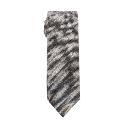Ties - Gray Herringbone Tie