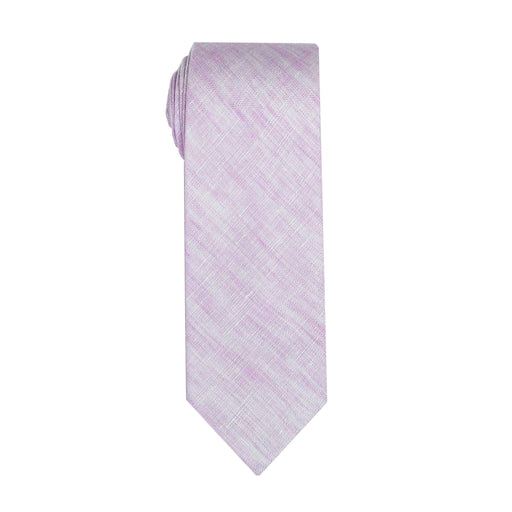 Ties - Lavender Linen & Cotton Tie (Brooklyn)