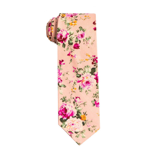 Ties - Pink Floral Tie (Brooklyn)