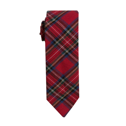 Ties - Red Scottish Tartan Tie (Brooklyn)