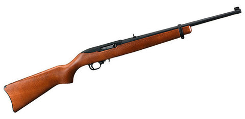 "Ruger 10/22 Carbine Semi-Auto 22LR 18"" Barrel Hardwood Stock 10 Rd Mag"