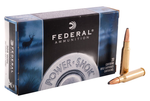 Federal Power-Shok .308 WIN 180gr Soft Point